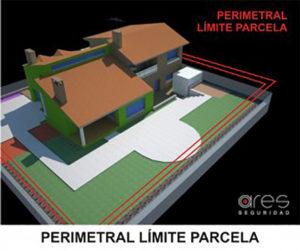 Seguridad perimetral límite parcela