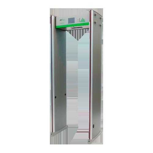 Arcos detectores de metales y temperatura
