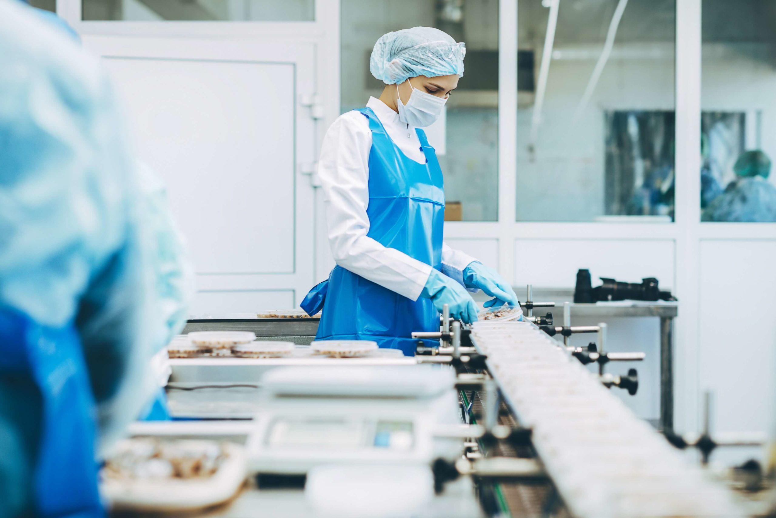 Cámaras térmicas para Industria alimenticia