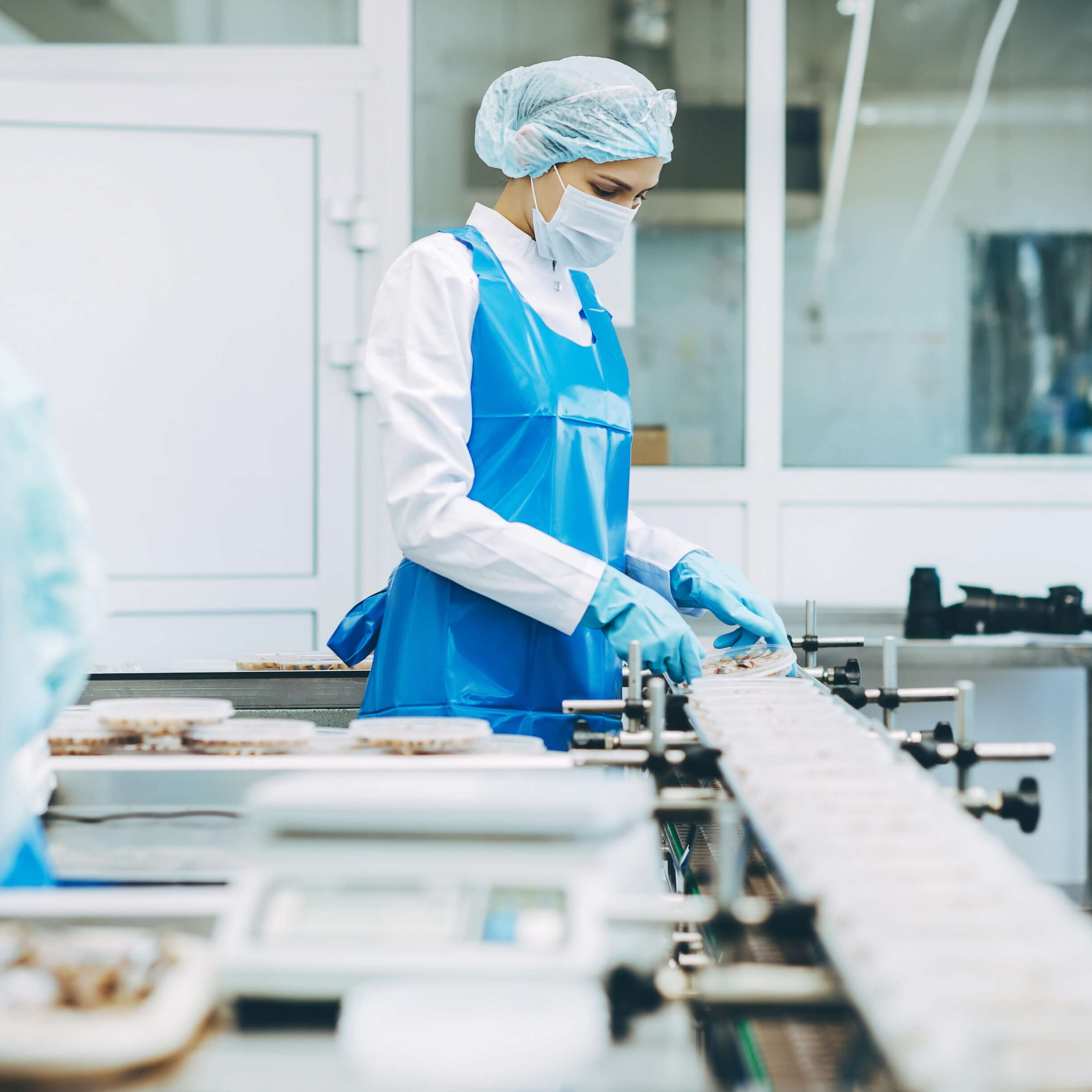 Uso de cámaras térmicas en la industria alimenticia